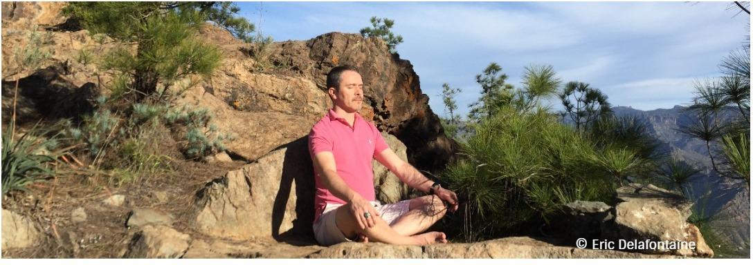 Méditation aux Canaries avec Eric Delafontaine
