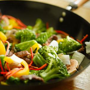 une poelée de légumes