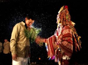 cérémonie chamanique