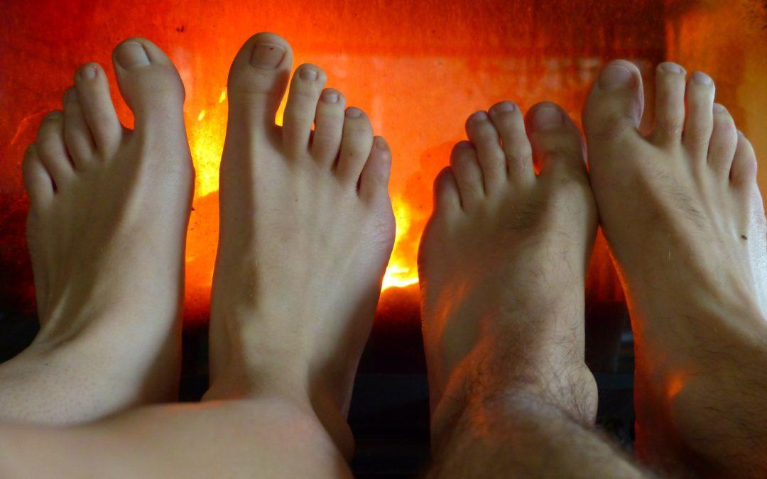 4 conseils pour réchauffez vos pieds froids