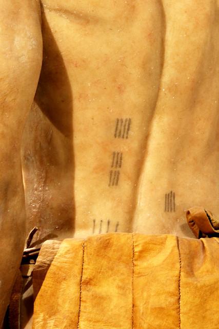 Tatouages d'Ötzi sur les méridiens d'acupuncture