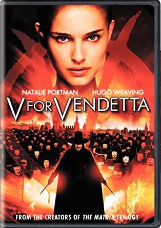 V pour vendetta affiche film