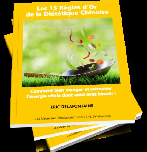 e-book gratuit 15 règles d'or de la diététique chinoise par Eric Delafontaine