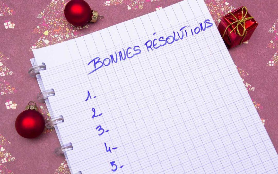 Prenez une vraie résolution que vous pourrez tenir toute l'année
