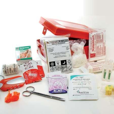trousse de secours pour les urgences et premiers soins