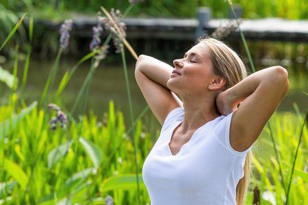 ventre gonflé exercices de respiration anti-stress