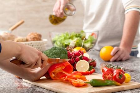 Homme femme diététique et perte de poids